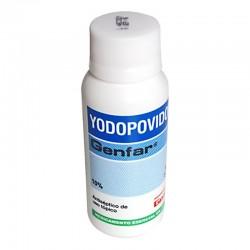Yodopovidona solución por 120 ml.