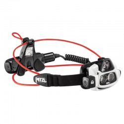 Linterna frontal de haz luminoso múltiple, ultrapotente y recargable, Nao Petzl.