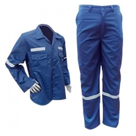 Overol camisa y pantalón en dril vulcano, múltiples tallas, producto nacional.
