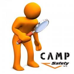 Servicio de inspección para equipos, Camp Safety.