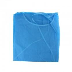 Delantal Desec, bolsa por 10 uds, ref. Ig 352, azul.