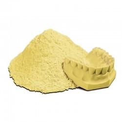 Yeso tipo III amarillo 100 libras pesadas.