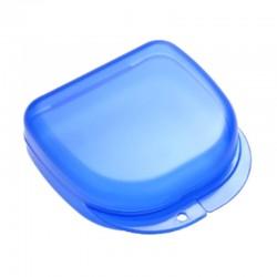 Caja de ortodoncia grande azul.