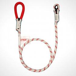 Estrangulador de postes en cuerda con acoples y protección en pvc, Orbit.
