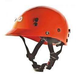Casco brigadista / socorrista para protección y labores de rescate, producto nacional.