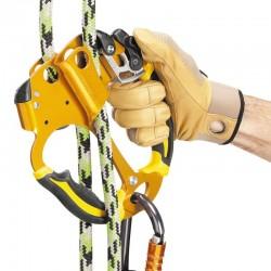 Puño bloqueador doble para poda, cuerdas de 8 a 13mm Petzl.