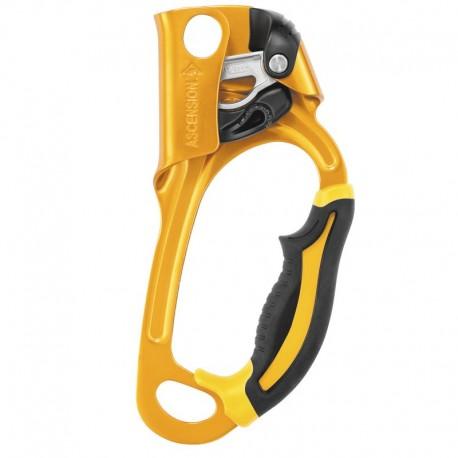 Puño bloqueador derecho para ascensos por cuerda de 8 a 13mm Petzl.