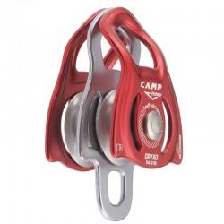 Polea doble con placas laterales móviles ultra compacta y ligera, Camp Safety.