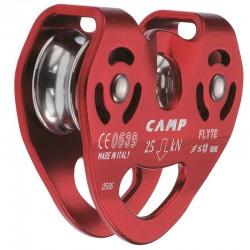 Polea doble de alto rendimiento para tirolinas de cable y cuerda, Camp Safety.