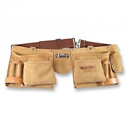 Cinturón porta herramientas con 2 bolsillos, Zubi-ola.