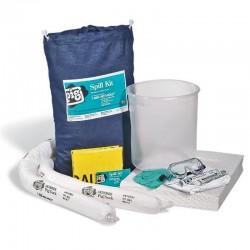 Kit control derrame químico - oleofilico 15 gl, blanco, Sosega.