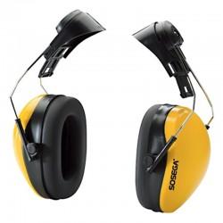Protector auditivo tipo copa para insertar al casco, Sosega.
