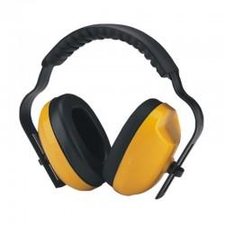 Protector tipo copa diadema color amarillo, Link Tech.