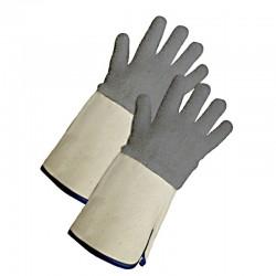 Guantes en algodón para altas temperaturas, Producto importado.