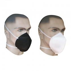 Mascarilla respirador cuatro capas (blanca o negra), Producto importado.