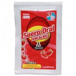 Suero oral en polvo o sales de rehidratación oral por unidad.