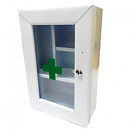 Botiquín gabinete metalico de primeros auxilios sin dotación Health Solutions