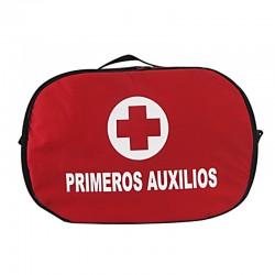 Botiquín tipo maletín mediano de primeros auxilios, sin dotación. Health Solutions.