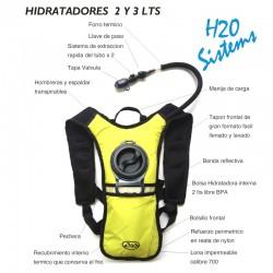 Bolsa de hidratacion camel back x 2 litros, Producto importado.