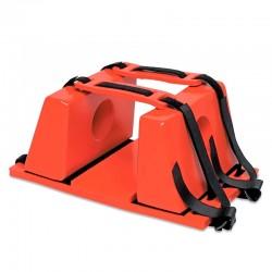 Inmovilizador cefalico – craneal pvc de alta densidad, Life Rescue.