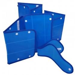 Juego de férulas inmovilización extremidades cartonplast adulto, Health solutions.