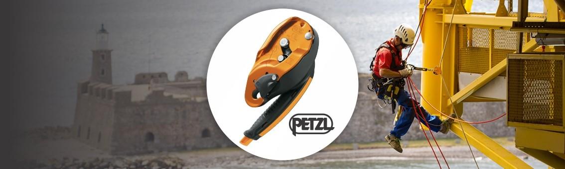 Equipos para seguridad en alturas, espacios confinados y rescate Petzl
