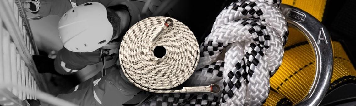 Venta de cuerdas certificadas dinámicas y estáticas para trabajo seguro en alturas en Bogotá